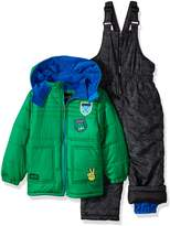 iXtreme Toddler Boys' Quilted Snowsuit Withpatches