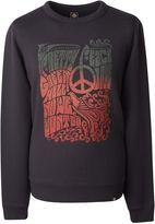 Pretty Green Men's Peace Print Crew Sweatshirt