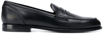 Balmain Leather Penny Loafers