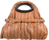 Marni Leather Drawstring Satchel