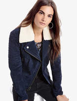Lucky Brand Shearling Moto