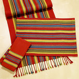 Monterey Stripe Runner, Placemats or Napkin, Set of 4