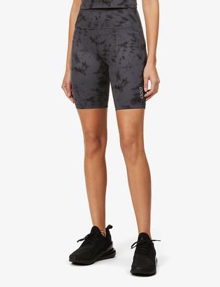 Lorna Jane No Dig tie dye-print stretch-jersey shorts