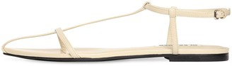 Jil Sander 10mm Leather Sandals