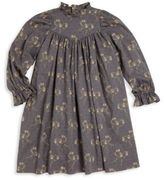 Bonpoint Toddler's & Little Girl's Ruffled Collar Dress