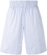 Comme des Garcons striped bermuda shorts - men - Cotton - XS