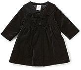 Starting Out Baby Girls 3-9 Months Velvet Coat