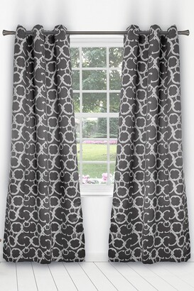 Duck River Textile Rhys Blackout Grommet Panel Curtains - Set of 2 - Grey
