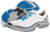 Ecco Sport - Biom EVO Trainer Plus (Silver Metallic/White/Concrete) - Footwear