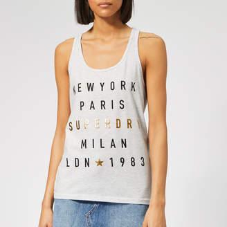 Superdry Women's City Letters Foil Vest