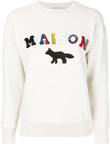 MAISON KITSUNÉ Maison fox sweatshirt