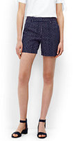 "Lands' End Women's Petite Not-Too-Low Rise 5"" Chino Shorts-Whispering Pink Dots"