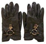 Hermes Lambskin Charm Gloves