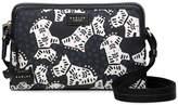Radley Folk Dog Small Zip Top Crossbody Bag - Black