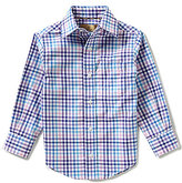 Class Club Gold Label Little Boys 2T-7 Multi Checked Dress Shirt