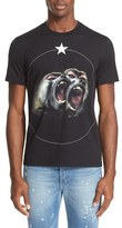 Givenchy Men's 'Monkey Brothers' Graphic T-Shirt