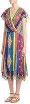 Polo Ralph Lauren Printed Silk Dress