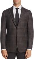 John Varvatos Star Usa Luxe Regular Fit Melange Plaid Sport Coat - 100% Exclusive