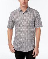 Alfani Men's Short-Sleeve Printed Shirt, Only at Macy's