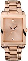 GUESS Rectangular Diamond Watch