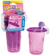 The First Years Take & Toss Spill-Proof Sippy Cup - 10 oz - 4 Pk - Girl, Size 8 - 10 oz