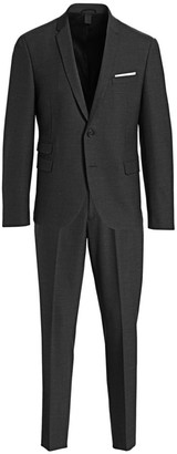 Neil Barrett Slim-Fit Narrow Notch Single-Breasted Virgin Wool-Blend Suit