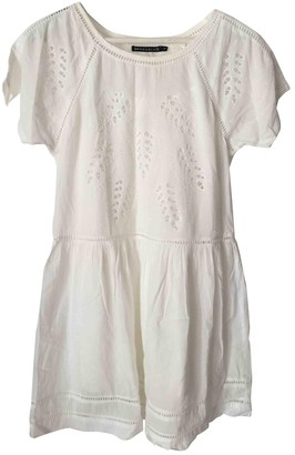 Berenice White Cotton Dress for Women