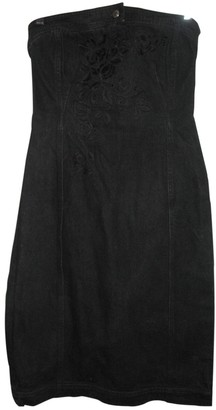Philosophy di Alberta Ferretti Black Denim - Jeans Dress for Women