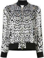ADAM by Adam Lippes jacquard bomber jacket