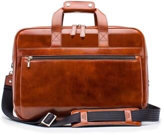 Bosca Stringer Leather Briefcase