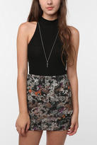 Urban Outfitters Tela High Neck Drop Arm Tank Top