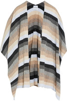 Madeleine Thompson Ribbed Striped Cashmere Wrap - Neutral
