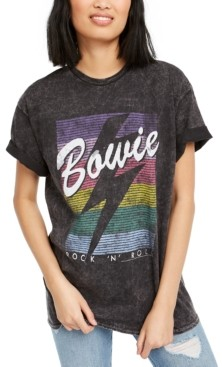 Junk Food Clothing Cotton Bowie Graphic T-Shirt