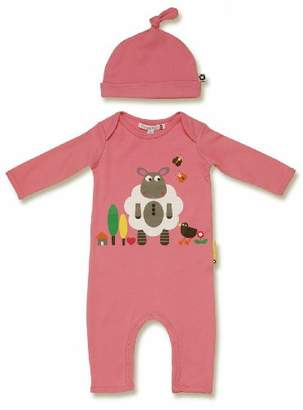 Olive&Moss Lamb-Pink-PS2 Onesie Loris The Lamb 6-12 Months Pink