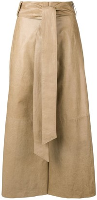 Drome Cropped Wide Leg Trousers