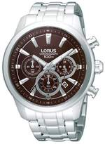Lorus Stainless Steel Chronograph Watch Rt359ax9