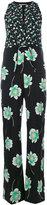 Agnona floral print jumpsuit - women - Silk/Spandex/Elastane/Cupro - 42