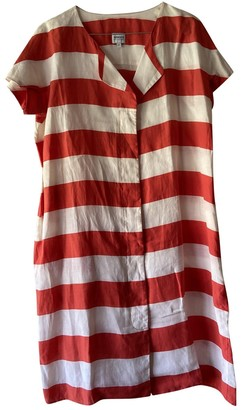 Armani Collezioni Ecru Linen Dress for Women