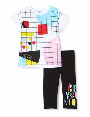Tuc Tuc Tuc Baby Girls' F. Games Clothing Set Black (Negro 30) 86/92 (Size: 2A)