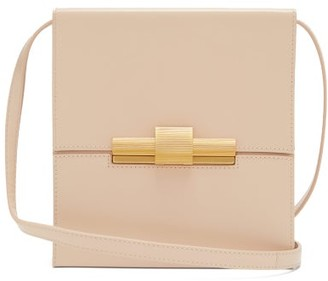Bottega Veneta Daisy Leather Cross-body Bag - Womens - Beige