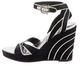 Salvatore Ferragamo Platform Wedge Sandals