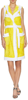 Moschino Terry Hooded Wrap Dress