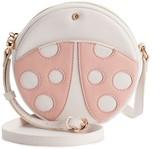 Lauren Conrad Women's Crossbody Round Ladybug Purse