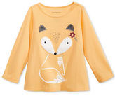 First Impressions Fox T-Shirt with Faux Fur