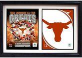 Texas Longhorns Double Custom Frame