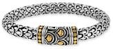 John Hardy 'Naga' Silver & Gold Bracelet