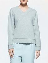 Calvin Klein Platinum Jersey Sweatshirt