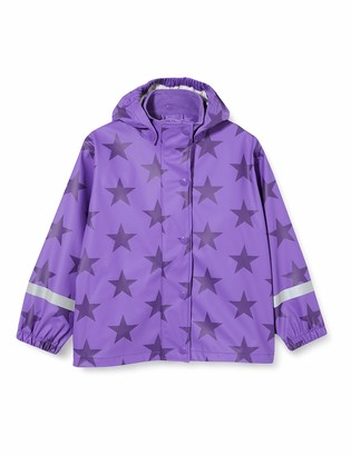 Fred's World by Green Cotton Girl's Rainwear Set Star Waterproof Jacket