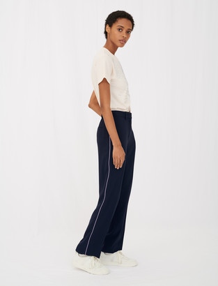 Maje Crepe suit trousers