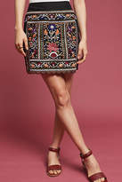 Eri + Ali Tayla Embroidered Mini Skirt